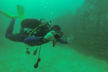 diving in Borneo