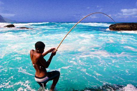 Pesca d'altura a Capo Verde