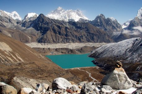 trekking sull'Everest